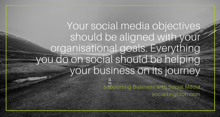 #SMTips – What is your social media goal?