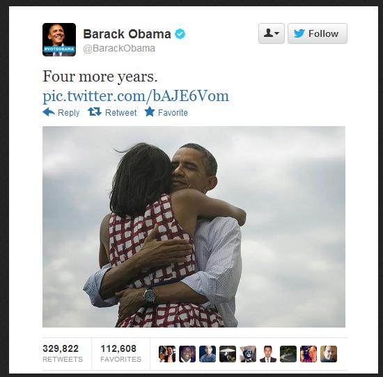 Tweet of Obama