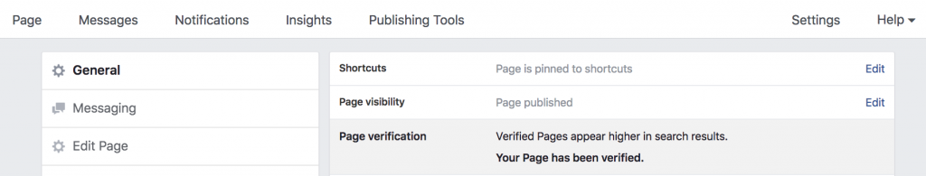 Verify your page