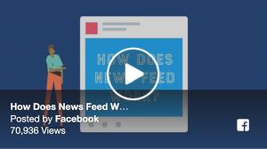 Facebook algorithm changes