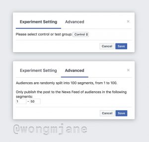 What's New in Social Media Facebook tests A/B testing on organic posts