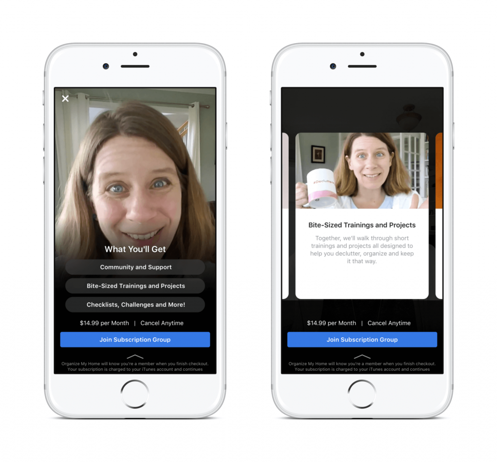 What's New in Social Media Facebook paid subscription Groups