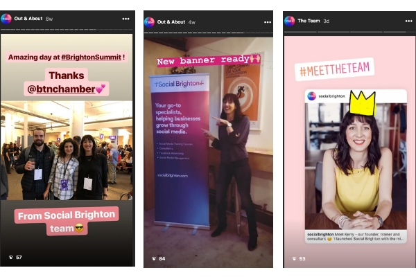 social media strategy 2019 - Use more Insta Stories