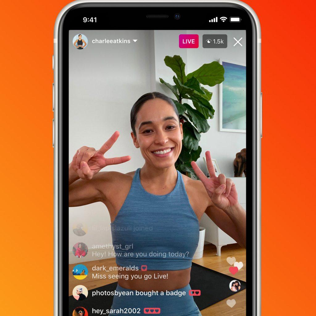 Instagram trends live 2020